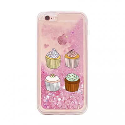 아이폰6플러스/6S플러스 컵케익(풀 TPU 글리터)