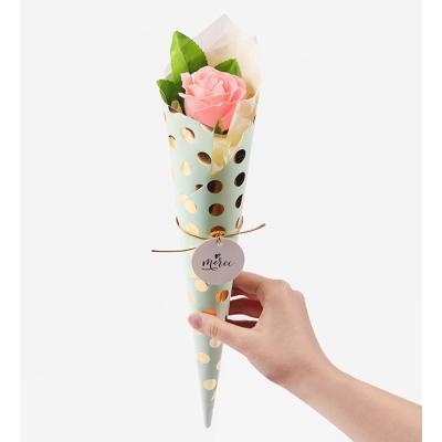 사랑해 핑크 로즈 비누꽃한송이 (1set)
