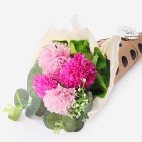 고마워요 핑크 카네이션 비누꽃다발 (1set)
