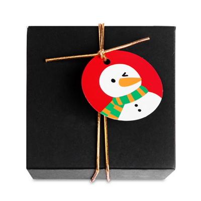 눈사람 아이콘 원형 (텍) (10개)