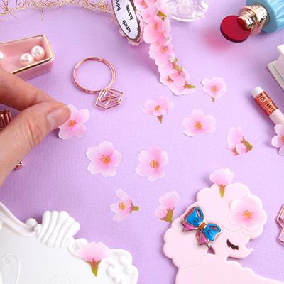 반데 로맨틱 벚꽃 마스킹 테이프