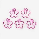 핫핑크 벚꽃 클립 (5개)