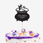 할로윈 마녀의 요리시간 케이크토퍼