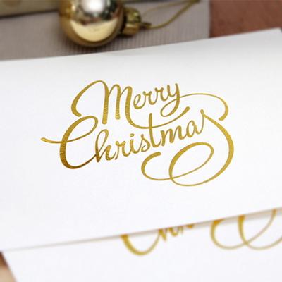 (금박) 메리크리스마스 카드
