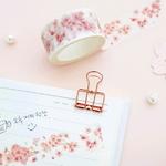 청순한 벚꽃 마스킹 테이프