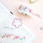 봄을 알리는 벚꽃 마스킹 테이프