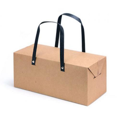 모던 크라프트 손잡이 상자(대)