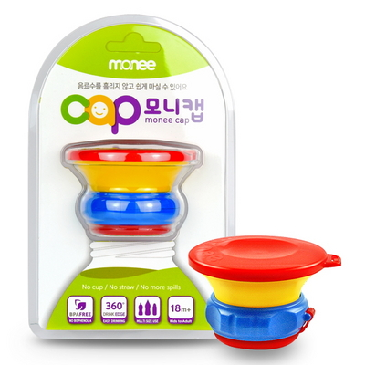 모니 유아용품 음료흘림 빨대컵 모니캡 2개 중 선택