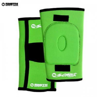 [SMITH] SCABS KNEE GASKET HORSESHOE PADS (Green)