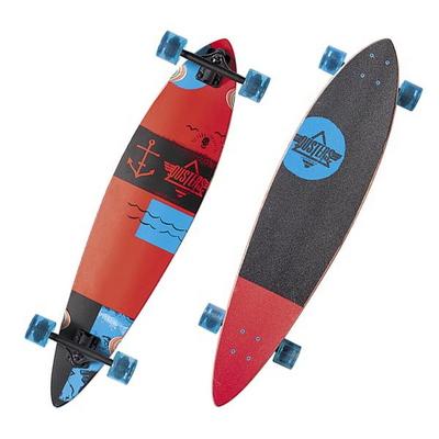[DUSTERS] 39 FLOAT RED/BLUE CLASSIC LONGBOARD