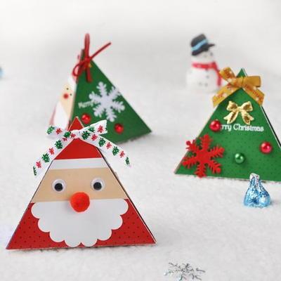 산타 입체카드  5인용