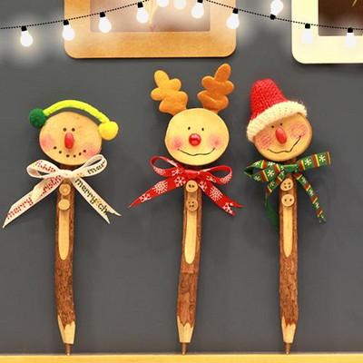 성탄우드볼펜만들기(4인용)/크리스마스/나무볼펜