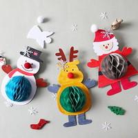 [크리스마스]성탄친구들 (5인용)/허니컴/만들기