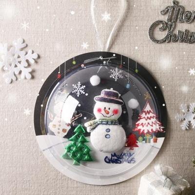 [크리스마스] 눈사람투명반구만들기(4인)