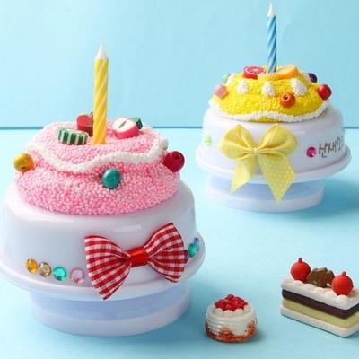 생일축하해요오르골만들기(4개)/생일만들기/클레이