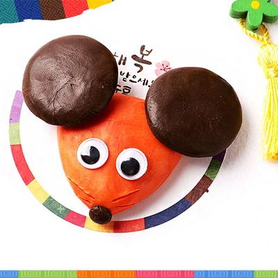 아기마우스비누만들기(4개)/쥐띠만들기/새해/비누재료