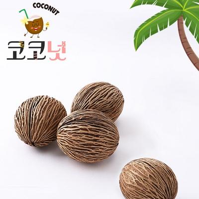 자연물_코코넛열매(1개)코코넛모양/야자열매/인조장식