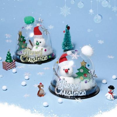 크리스마스세상만들기(4개)/투명돔눈사람만들기/트리