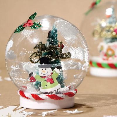 렛잇스노우볼만들기(4개)/크리스마스만들기/겨울