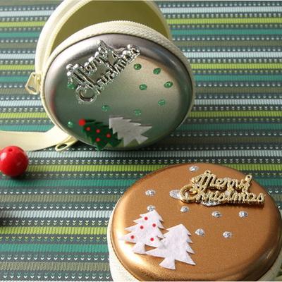 크리스마스 지퍼캔만들기(4인용)/크리스마스동전지갑