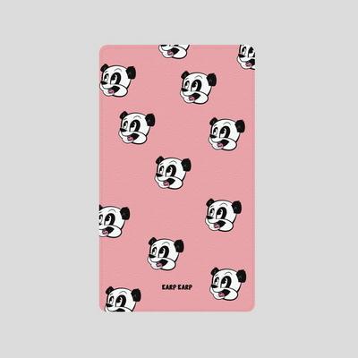 어프어프(보조배터리)-Dot Panda-pink