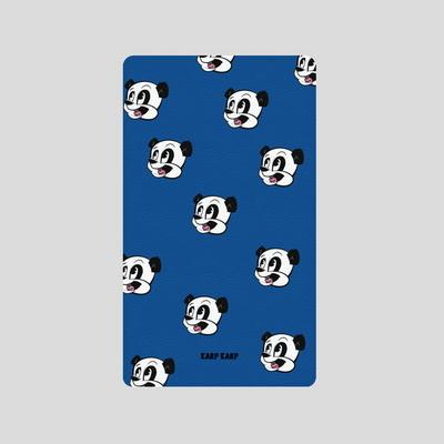어프어프(보조배터리)-Dot Panda-blue