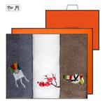 고운자수 3매 선물세트(쇼핑백)