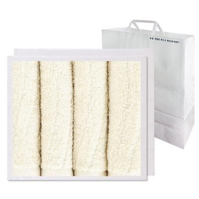 나무세면 4매 선물세트+쇼핑백