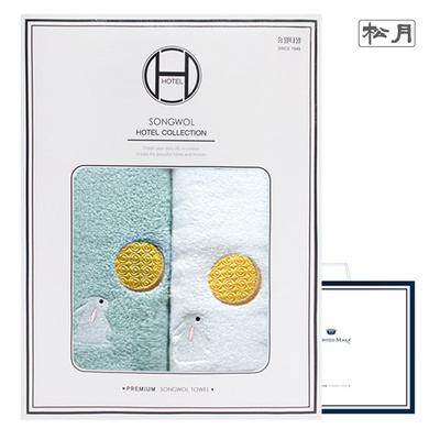 달토끼 2매 선물세트+쇼핑백
