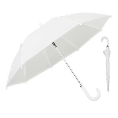 송월 반투명 화이트 우산