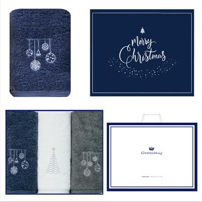 크리스마스 징글벨 3p선물세트+쇼핑백 기념수건 답례품