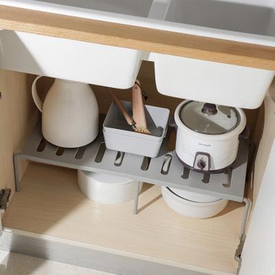 모던 다용도 주방 욕실 길이조절 수납선반