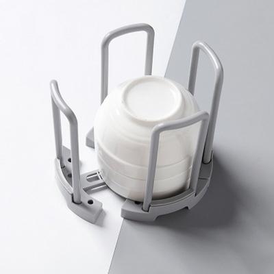 다용도 넓이조절 그릇 수납 보관함