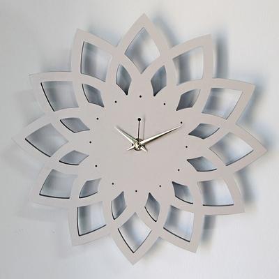 연꽃 무소음 벽시계
