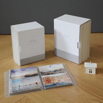 모노클리어앨범 4X6 더블사이즈 4권세트(케이스 포함)