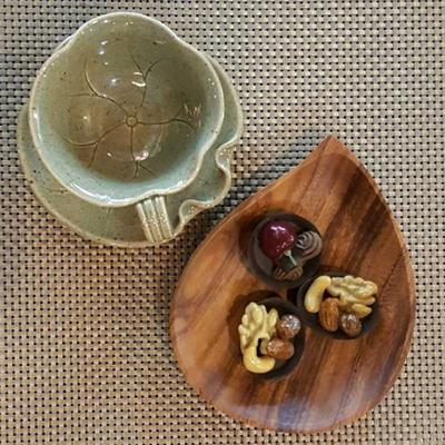 아카시아 나무접시 2종 택1
