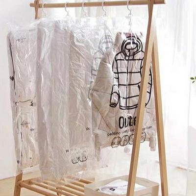 옷걸이형 의류 압축팩 중형+압축기 세트