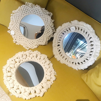 MACRAME NO.24 마크라메 거울(30cm)