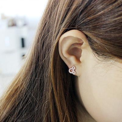 14K MIKI마우스 귀걸이(미키)