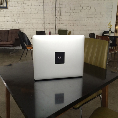 Glowing macbook sticker TABTAG