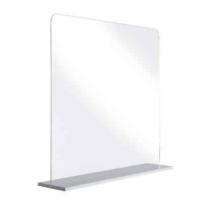 투명 아크릴 가림막 식당 유치원 490 x 490 mm