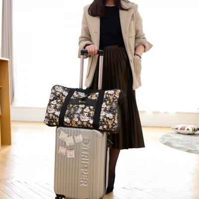 토키도키 폴딩 버클 보스턴 여행 보조 가방