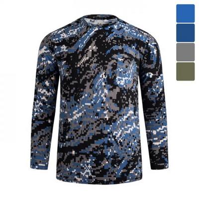 패턴 냉감 긴팔 티셔츠 STS025