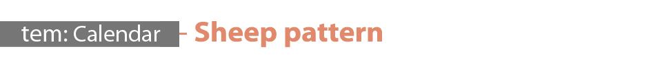 템팩토리 - 기린 디자인패턴 만년달력(소) - 템, 9,800원, 캘린더, 탁상캘린더만년형