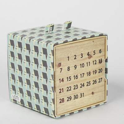 템팩토리 - 민트 디자인패턴 만년달력 (대)