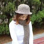 (DIY)에코앤디안 목도리와 모자 만들기(성인)