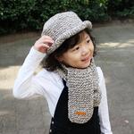 (DIY)에코앤디안 목도리와 모자 만들기(키즈)