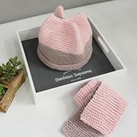 하모니 모자와 목도리 만들기