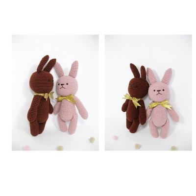 손뜨개 DIY-손뜨개인형-토끼친구