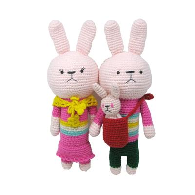 손뜨개 DIY-손뜨개인형-대두커플-토순이토돌이